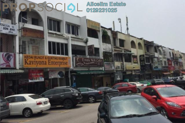 For Rent Shop at SS14, Subang Jaya Freehold Unfurnished 0R/1B 4.3k