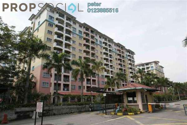 For Rent Condominium at Arena Green, Bukit Jalil Freehold Semi Furnished 3R/2B 1.15k