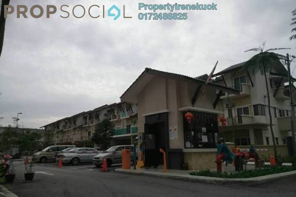 For Rent Terrace at Casa Residence, Bandar Mahkota Cheras Freehold Semi Furnished 5R/4B 1.9k