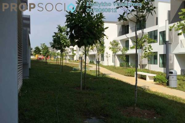 For Rent Townhouse at Primer Garden Town Villas, Cahaya SPK Freehold Fully Furnished 4R/4B 1.65k