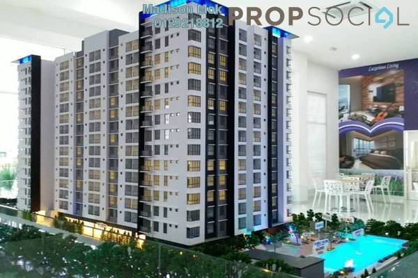 For Sale Condominium at Iris Residence, Bandar Sungai Long Freehold Unfurnished 3R/2B 430k