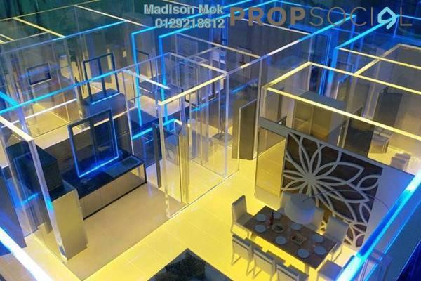For Sale Condominium at Iris Residence, Bandar Sungai Long Freehold Unfurnished 4R/3B 550k