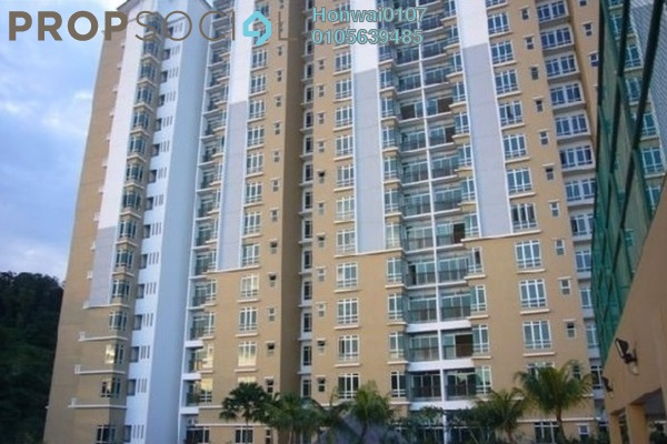 For Rent Condominium at Villa Park, Seri Kembangan Freehold Fully Furnished 4R/2B 1.9k