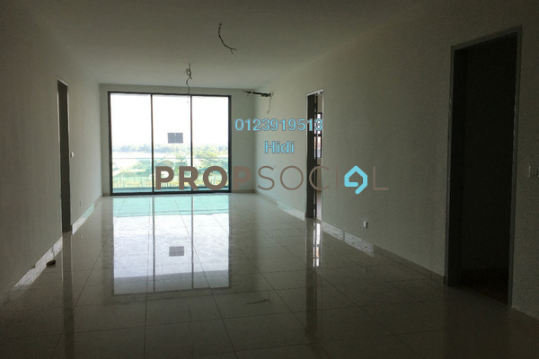 For Rent Condominium at X2 Residency, Puchong Freehold Semi Furnished 4R/5B 1.7k