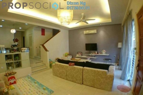 For Sale Terrace at Palm Walk, Bandar Sungai Long Freehold Semi Furnished 4R/3B 710k