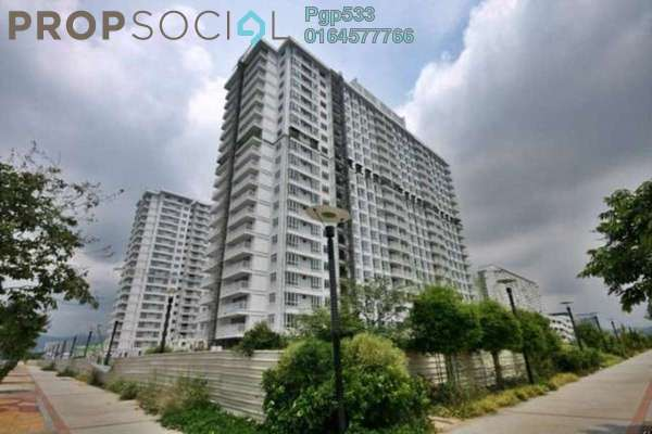 For Sale Condominium at Summer Place, Jelutong Freehold Semi Furnished 3R/2B 680k