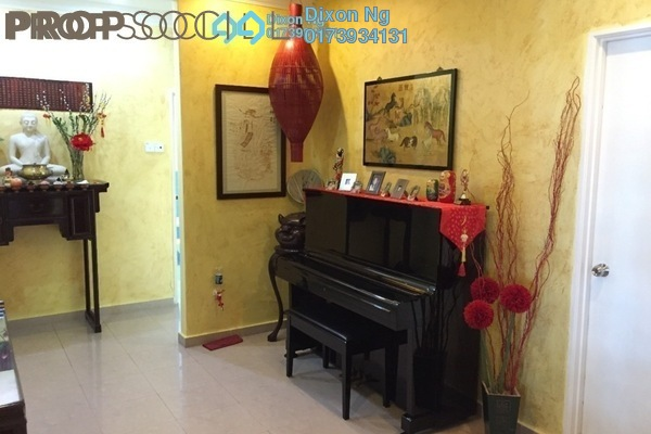 For Sale Condominium at Evergreen Park, Bandar Sungai Long Freehold Semi Furnished 4R/3B 780k