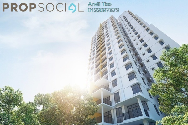 For Sale Condominium at Midfields 2, Sungai Besi Freehold Unfurnished 3R/2B 650k