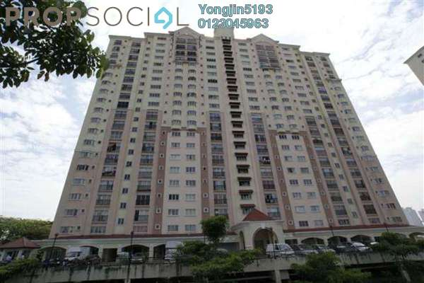 For Rent Apartment at Prima Tiara 2, Segambut Freehold Unfurnished 3R/2B 1.1k