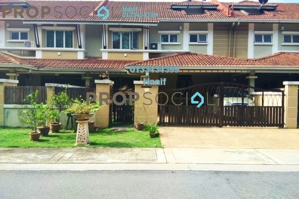 For Sale Terrace at Sunway Kayangan, Shah Alam Freehold Semi Furnished 5R/4B 750k