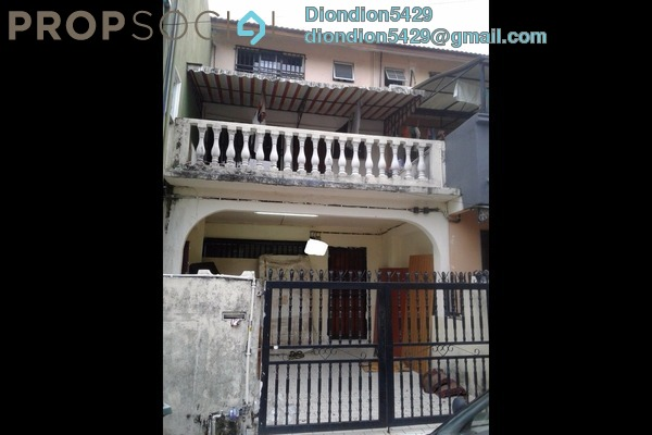 For Sale Terrace at Taman Sri Sinar, Segambut Freehold Semi Furnished 3R/3B 410k