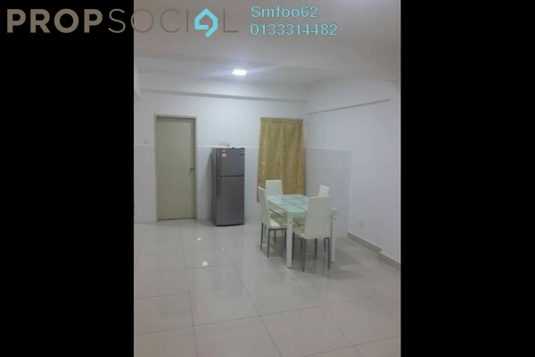 For Rent Condominium at Casa Tropika, Puchong Freehold Semi Furnished 3R/2B 1.2k