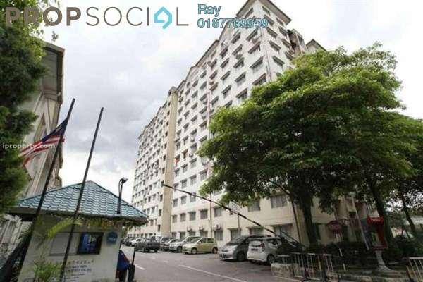 For Rent Condominium at Taman Abadi Indah, Taman Desa Freehold Semi Furnished 3R/2B 1.3k