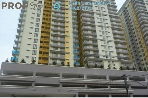 For Sale Condominium at Platinum Lake PV12, Setapak Freehold Semi Furnished 3R/2B 540k