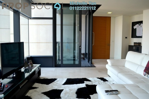 For Rent Condominium at The Troika, KLCC Freehold Semi Furnished 3R/5B 11.3k