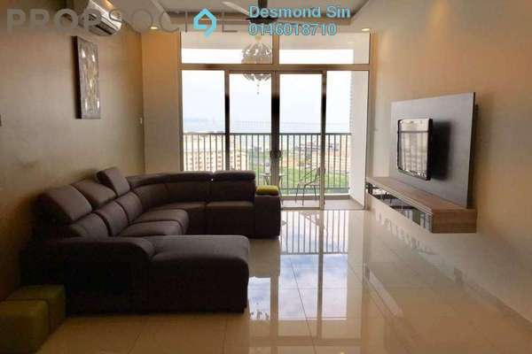 For Rent Condominium at Sandiland Foreshore, Georgetown Freehold Fully Furnished 3R/3B 2.5k