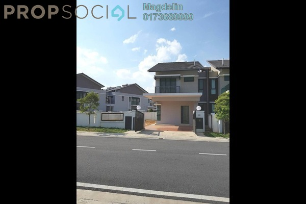 For Rent Semi-Detached at Periwinkle, Bandar Rimbayu Freehold Semi Furnished 3R/4B 1.8k