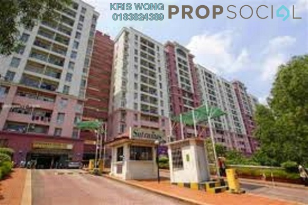 For Sale Condominium at Sutramas, Bandar Puchong Jaya Freehold Semi Furnished 3R/2B 330k