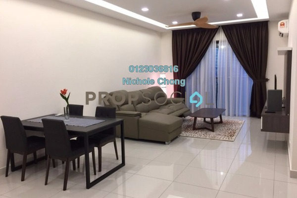 For Sale Condominium at Isola, Subang Jaya Freehold Fully Furnished 3R/3B 1.4m