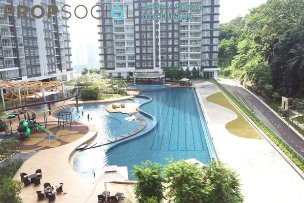 For Rent Condominium at Damansara Foresta, Bandar Sri Damansara Freehold Semi Furnished 3R/3B 1.8k