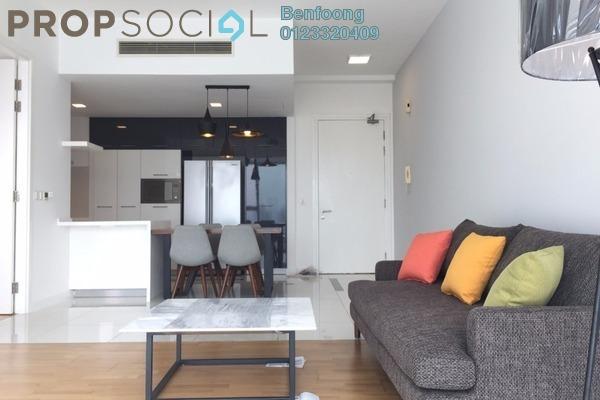 For Rent Condominium at Gateway Kiaramas, Mont Kiara Freehold Fully Furnished 1R/1B 3.4k