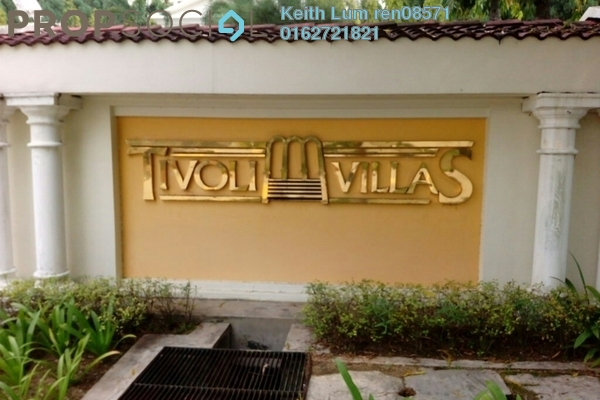 For Sale Condominium at Tivoli Villas, Bangsar Freehold Fully Furnished 2R/2B 880k