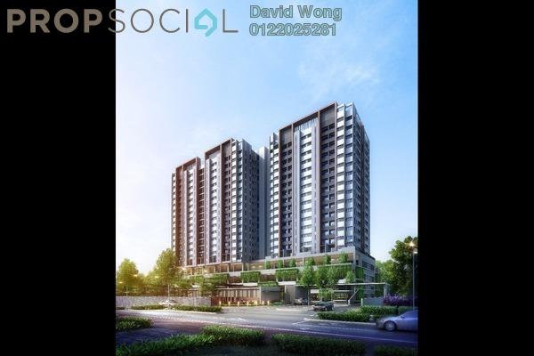 For Sale Condominium at Twin Palms, Bandar Sungai Long Freehold Unfurnished 3R/2B 393k