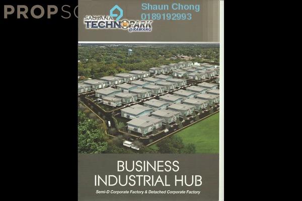 For Sale Factory at Saujana Rawang, Rawang Freehold Unfurnished 1R/3B 2.87m