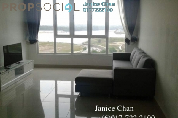 For Rent Condominium at Tropez Residences, Danga Bay Freehold Fully Furnished 2R/2B 1.8k