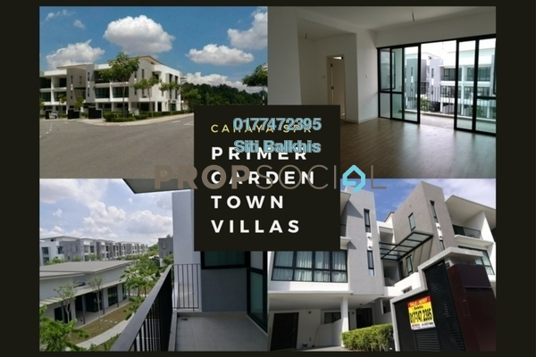 For Sale Townhouse at Primer Garden Town Villas, Cahaya SPK Freehold Unfurnished 3R/4B 950k