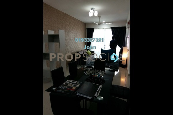 For Rent Condominium at The Majestic, Ipoh Freehold Fully Furnished 3R/2B 2k