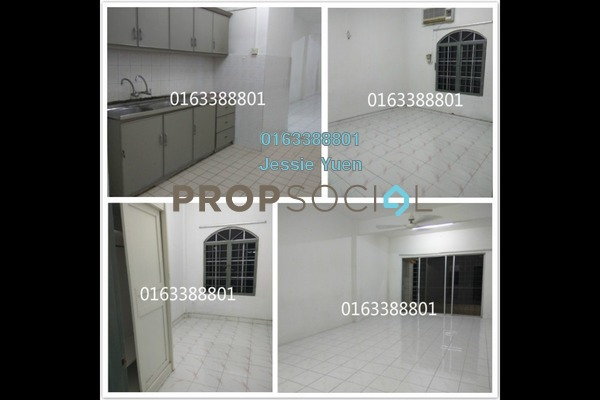 For Rent Apartment at Casa Venicia Apartment, Selayang Freehold Semi Furnished 3R/2B 1k