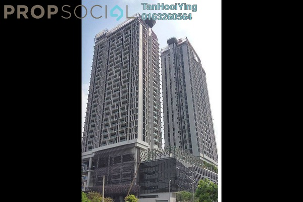 For Sale Condominium at Twin Arkz, Bukit Jalil Freehold Fully Furnished 2R/2B 950k