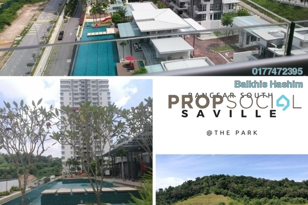 For Sale Condominium at Saville @ The Park, Pantai Freehold Unfurnished 4R/2B 1.1m
