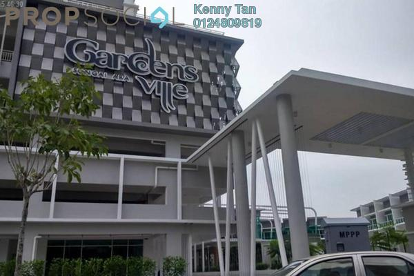 For Sale Condominium at Gardens Ville, Sungai Ara Freehold Semi Furnished 3R/2B 525k