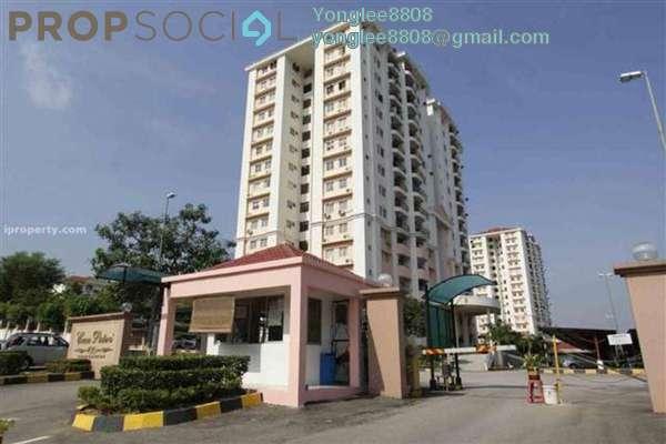 For Rent Condominium at Casa Puteri, Bandar Puteri Puchong Freehold Semi Furnished 3R/2B 1.3k