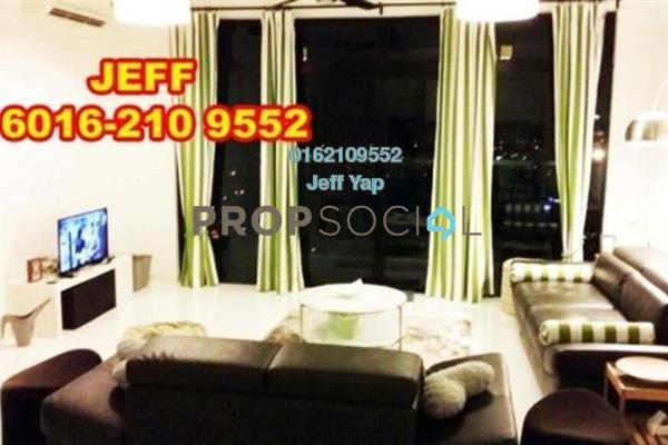 For Rent Serviced Residence at Sky Loft, Bukit Indah Freehold Fully Furnished 4R/3B 4k