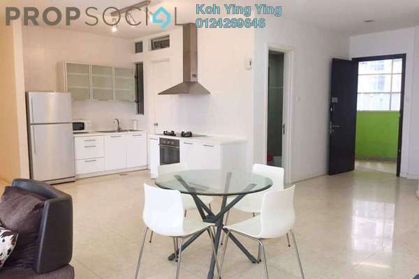 For Rent Condominium at Idaman Residence, KLCC Freehold Fully Furnished 3R/3B 3.7k