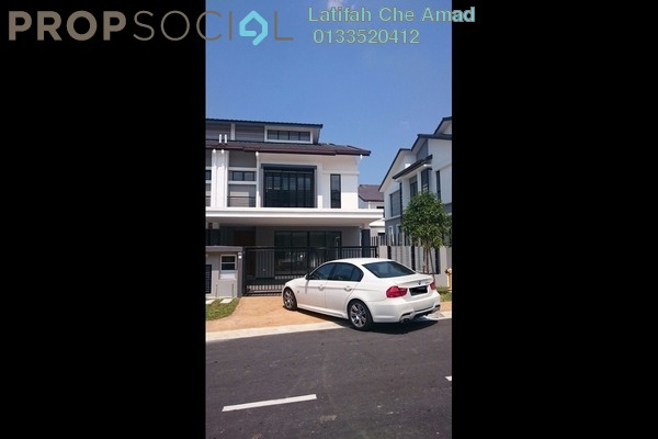 For Sale Terrace at Saffron Hills, Denai Alam Freehold Unfurnished 4R/3B 1.1m