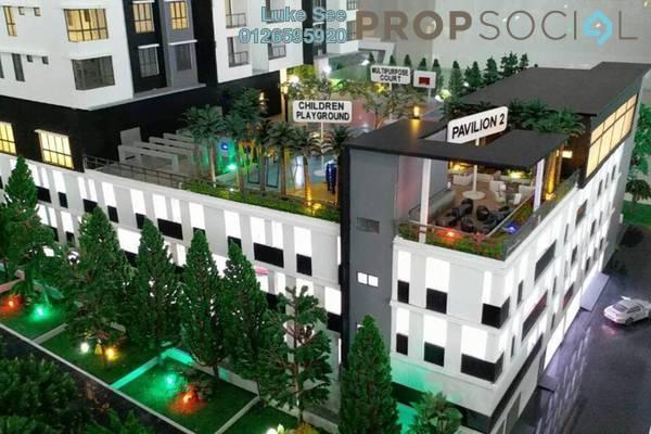 For Sale Condominium at Iris Residence, Bandar Sungai Long Freehold Unfurnished 3R/2B 499k