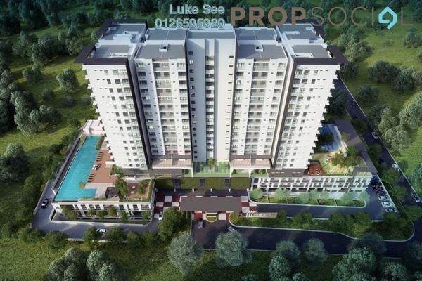 For Sale Condominium at Iris Residence, Bandar Sungai Long Freehold Unfurnished 3R/2B 507k
