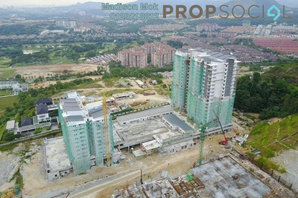 For Sale Condominium at Iris Residence, Bandar Sungai Long Freehold Unfurnished 3R/2B 487k