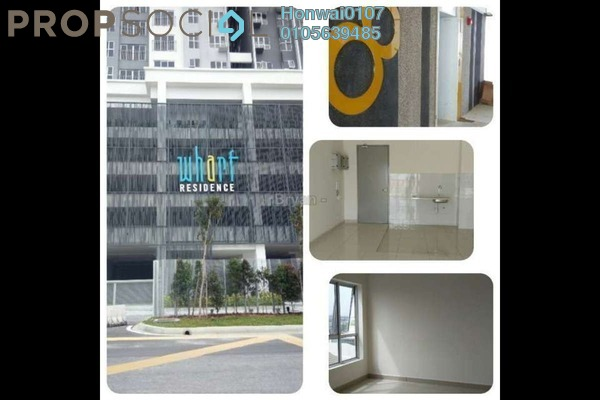For Rent Condominium at The Wharf, Puchong Freehold Semi Furnished 4R/2B 1.4k