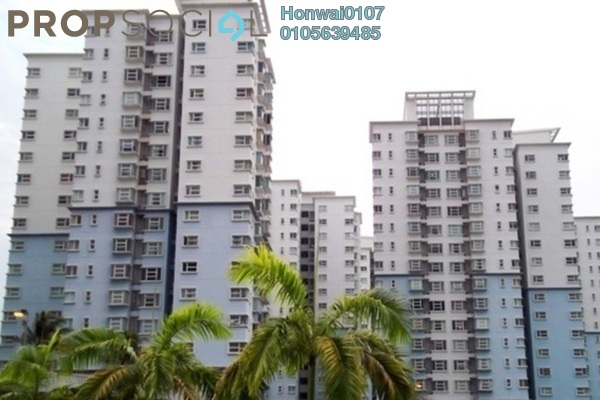 For Rent Condominium at Desa Impiana, Puchong Freehold Fully Furnished 3R/2B 1.2k