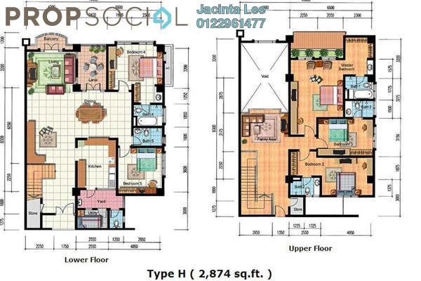 For Sale Condominium at Hartamas Regency 2, Dutamas Freehold Semi Furnished 5R/5B 1.26m