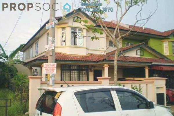 For Sale Terrace at Taman Putra Perdana, Puchong Leasehold Semi Furnished 4R/3B 438k