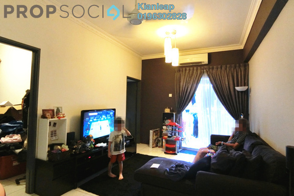 For Sale Apartment at D'Aman Crimson, Ara Damansara Freehold Semi Furnished 2R/2B 440k