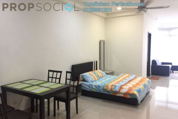 For Rent Condominium at Shaftsbury Square, Cyberjaya Freehold Fully Furnished 1R/1B 1.3k