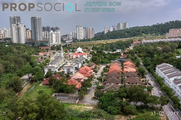 For Sale Condominium at Royalle Condominium, Segambut Freehold Semi Furnished 2R/3B 671k