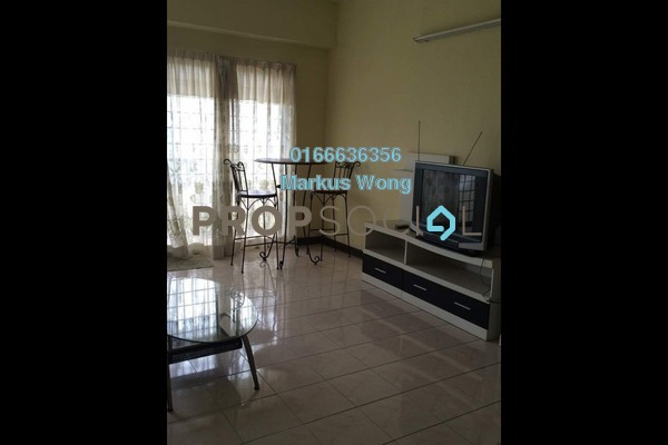 For Rent Condominium at Vista Komanwel, Bukit Jalil Freehold Fully Furnished 4R/2B 2.2k